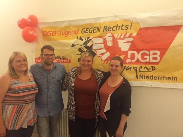 Neuer DGB-Jugend Vorstand