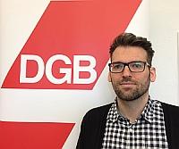 Fabian Kuntke, Jugendbildungsreferent DGB Region Niederrhein