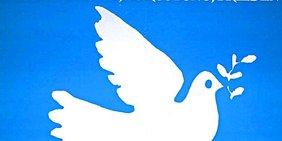 """Motiv eines Plakats zum Antikriegstag 1984 der DGB-Jugend zum """"Lauenburger Friedensfest"""" DGB/FES AdsD"""