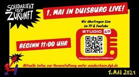 1. Mai Duisburg 2021 streamen