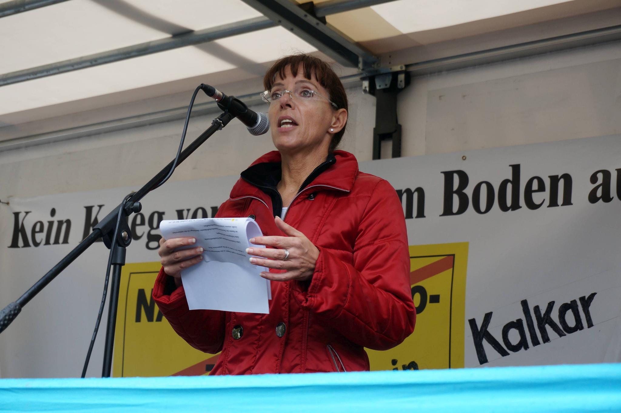 Angelika Wagner, DGB-Regionsgeschäftsführerin DGB-Region Niederrhein
