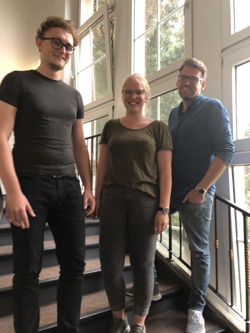 Neuer Vorstand der DGB-Jugend Duisburg ( von links nach rechts: Stefan Somberg, Manja Schnetgöke; Fabian Kuntke)