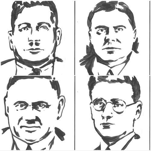 4 ermordete Gewerkschafter