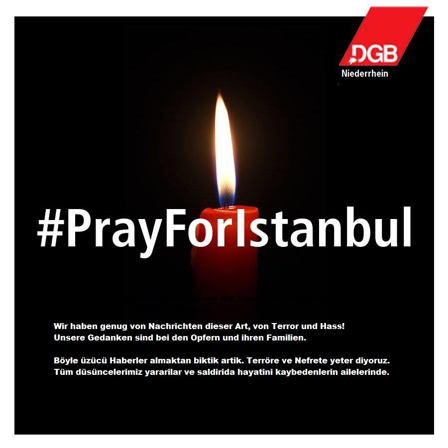 Trauer Istanbul