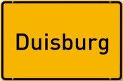 Schild Duisburg