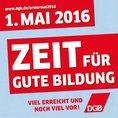 DGB Maiplakate 2016