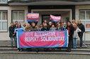 Beschäftigte im DGB Haus Duisburg