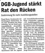 DGB Jugend NR 2011 - Stadt DU